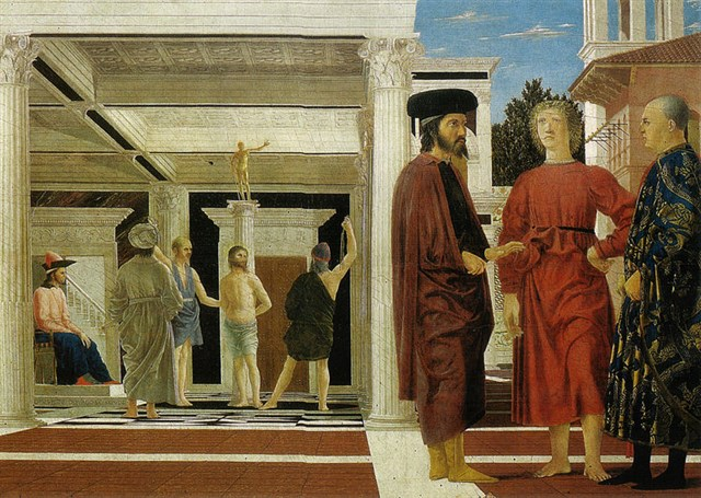 Scopri le attrazioni di Urbino - Piero della Francesca - La Flagellazione