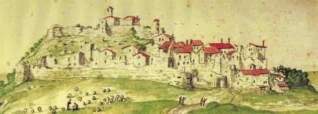 Montecopiolo- Area archeologica Castello 6
