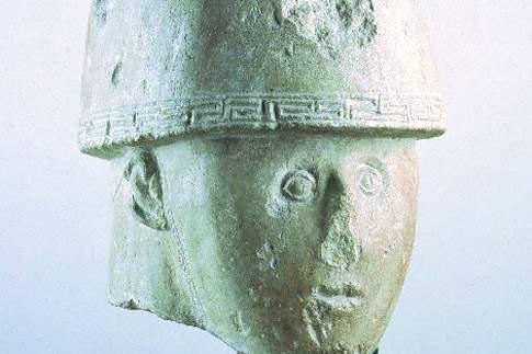 Testa del guerriero di Numana