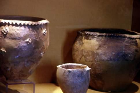 Vasellame proveniente dal fossato difensivo eneolitico di Conelle