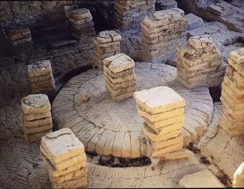 Ninfeo nel Parco archeologico di Cupramarittima,