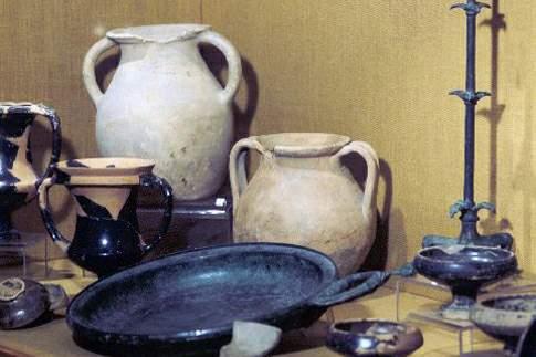 Corredi funerari provenienti dalla Necropoli Gallica di Montefortino