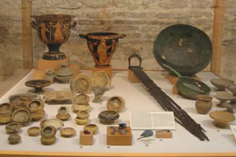 Sepolcreto gallico di Montefortino di Arcevia, corredo di una tomba