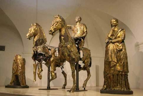 Il Gruppo dei Bronzi Dorati provenienti da Cartoceto