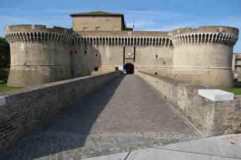 Attrazione di Senigallia - Rocca Roveresca