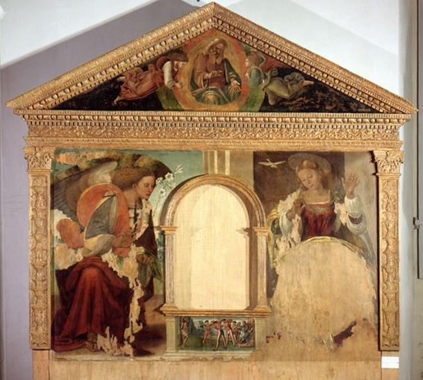 Luca Signorelli, Annunciazione presso il Museo Diocesano di Camerino