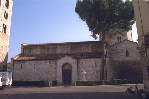 Estreno della Chiesa di S. Maria Intervineas