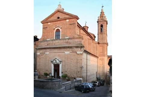 Facciata del Santuario di Santa Maria Goretti