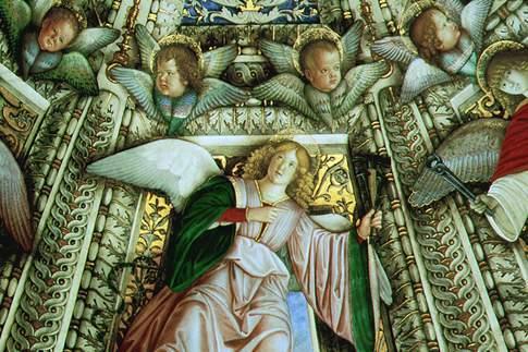 Particolare della volta della Sagrestia di San Marco