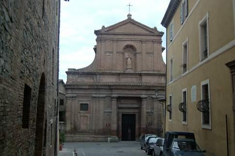 Attrazione di Matelica - Chiesa di San Filippo ed ex Convento dei Filippini