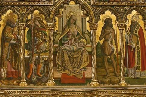 Attrazioni Monte San Martino Chiesa Di S Martino Vescovo