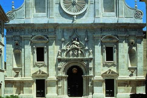 Attrazione di Tolentino - La Basilica di San Nicola