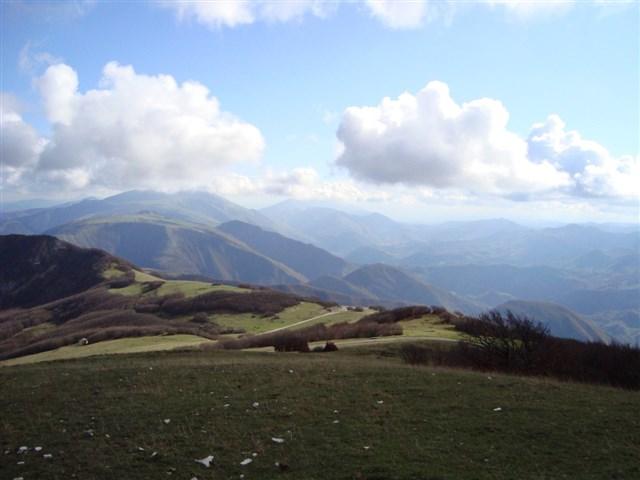 Vedute dal monte Nerone