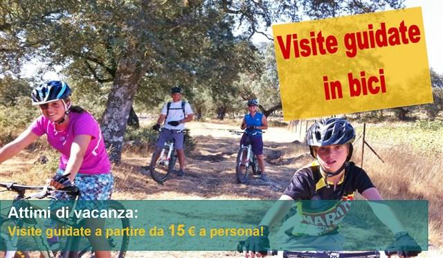 visite guidate in bici