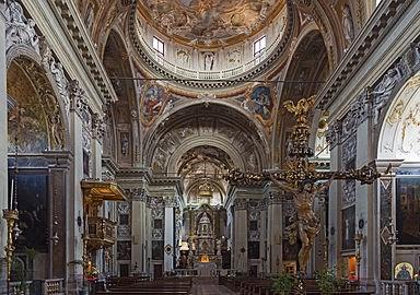 Interno di San Nicola da Tolentino