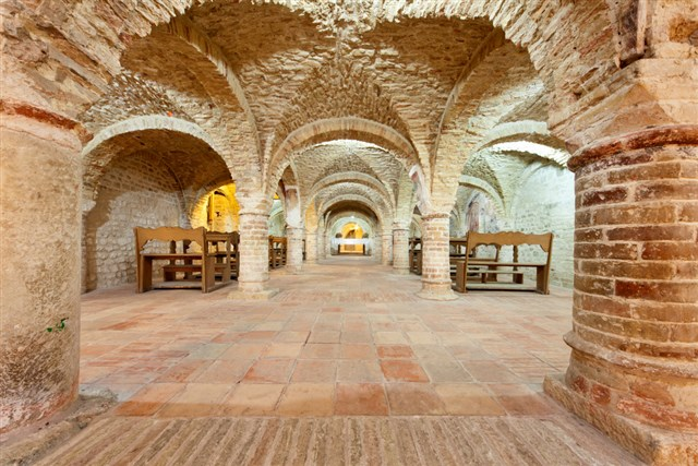 Cripta Santa Maria della Rocca Offida (AP)