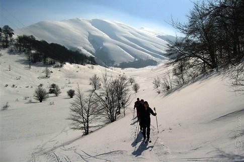 Scopri il percorso cicloturistico Sport invernali