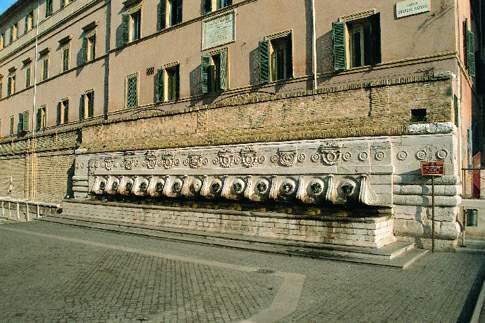 Ancona - Fontana delle Tredici Cannelle