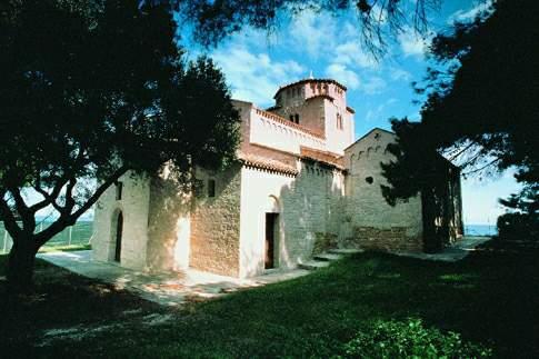 La chiesetta di S. Maria di Portonovo