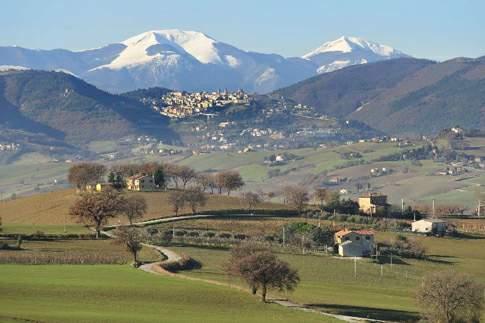 Vista di Arcevia