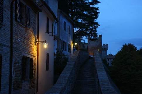 Corinaldo - Visione notturna