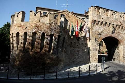 Corinaldo e le sua mure storiche