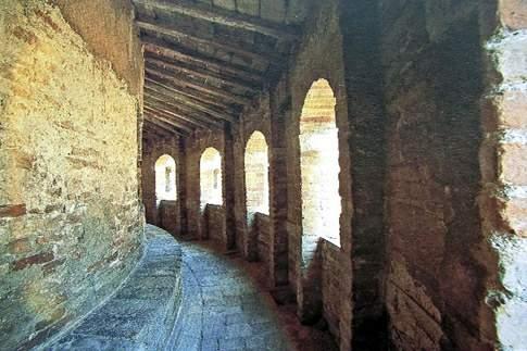 Loreto - Camminamento di ronda della Basilica della Santa Casa