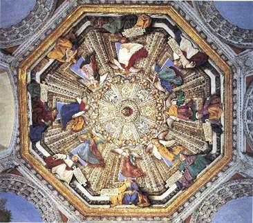 Loreto - Sagrestia di S. Marco, opera del Melozzo