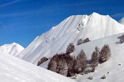Arquata del Tronto - Paesaggio Invernale