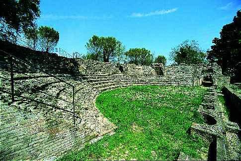 Falerone - Resti romani