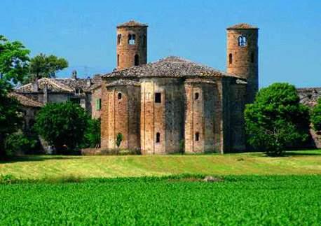 Corridonia - Abbazia di S. Claudio al Chienti