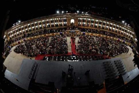 Macerata - Arena Sferisterio, interno