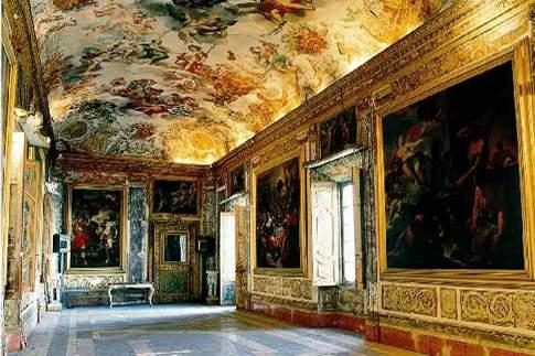 Macerata - Palazzo Buonaccorsi, Galleria dell'Eneide