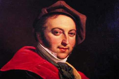 Pesaro - Ritratto di Gioacchino Rossini