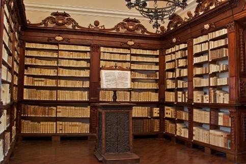 Scopri le attrazioni di Serra Sant'Abbondio- Biblioteca di Fonte Avellana