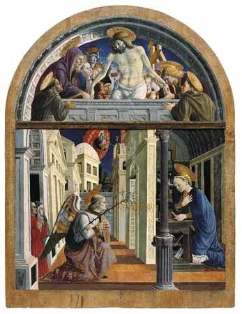 Giovanni Angelo di Antonio, Annunciazione