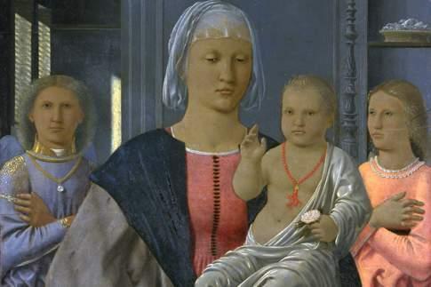 Scopri le attrazioni di Urbino - Piero della Francesca - Madonna di Senigallia