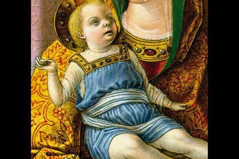 Madonna con Bambino, particolare