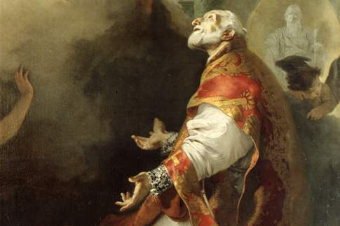 Apparizione della Madonna a San Filippo Neri, particolare