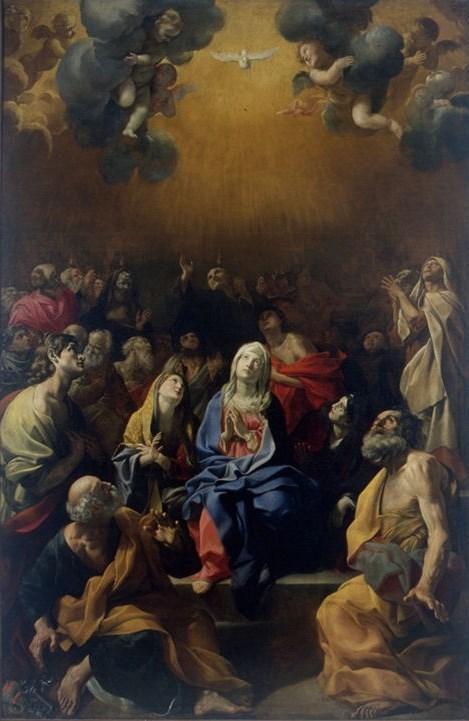 La Pentecoste di Giovanni Lanfranco, Pinacoteca civica di Fermo