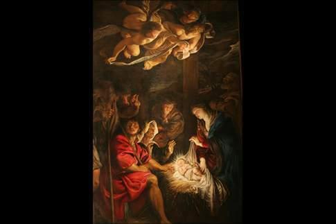 Attrazione di Fermo - Peter Paul Rubens - Adorazione dei pastori, Pinacoteca Civica