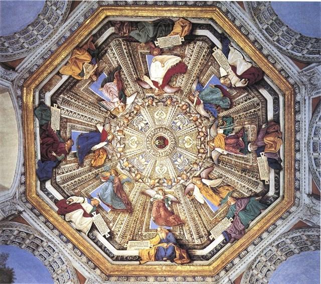 Affreschi di Melozzo da Forlì, Cappella di San Marco del Santuario della Santa Casa di Loreto