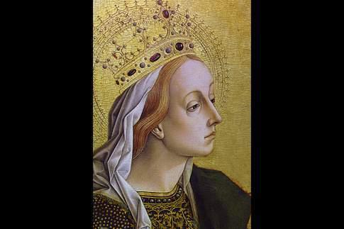 Polittico di Montefiore, Santa Caterina d'Alessandria