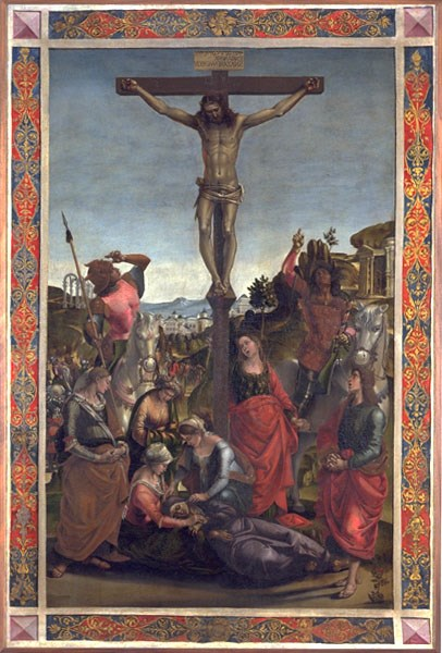 Luca Signorelli, Gonfalone dello Spirito Santo presso la Galleria Nazionale di Urbino