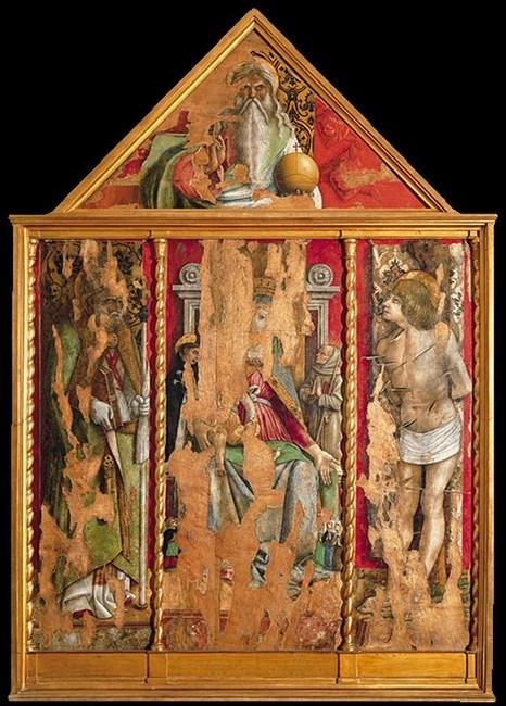 Primo trittico pinacoteca Ascoli Piceno