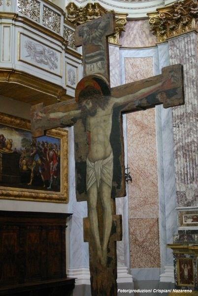 Treia - Chiesa di San Filippo - Crocifisso