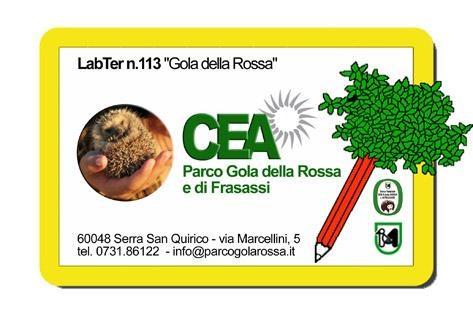 Logo CEA del Parco Gola della Rossa e di Frasassi