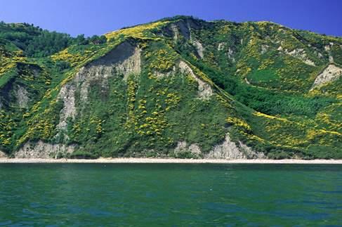 Parco visto dal mare