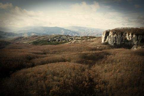 Cime montuose nel Parco Sasso Simone e Simoncello