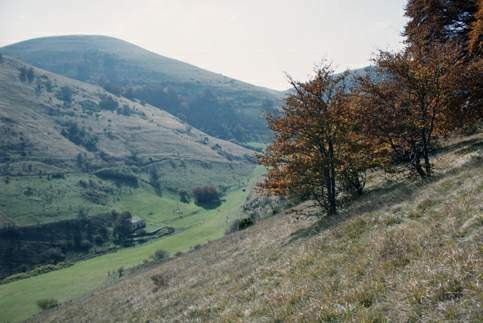 Paesaggio naturale della Riserva Montagna di Torricchio